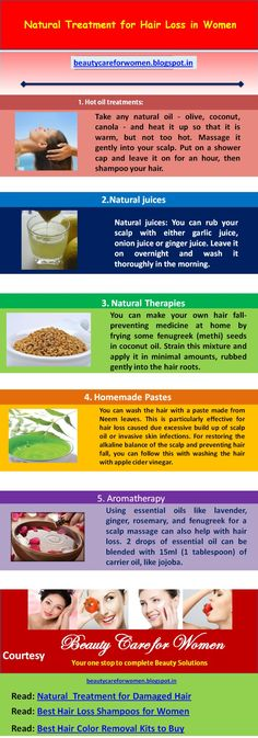 The natural female hair loss remedies that's going to help you bring back your healthy hair and prevent future cases of hair loss from happening.