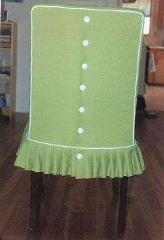 Parsonu0027s Chair With Pleated Skirt