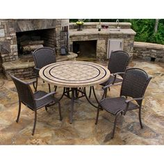 Marquesas 5-piece Dining Set | Overstock™ Shopping - Big Discounts on Dining Sets
