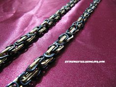 Men's 316L Stainless Steel Chain Necklace Gold PVD Necklace Chain