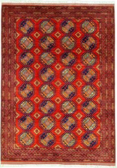 For the inveterate Midwestern thrifter, it's kinda a problem to prefer Afghan rugs to Chinese ones. 8' 6 x 12' 0 Red Afghan Ersari Oriental Rugs