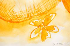 Goulet Pens Blog: Stipula Sapphron with Faber-Castell Loom Metallic Orange: Monday Matchup #77