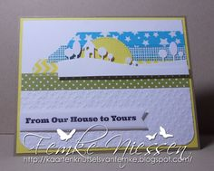 made by femke niessen. washi tape and landscape backgrounds!!!