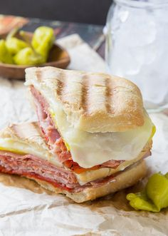 Spicy Italian Panini! The perfect easy weeknight dinner recipe for busy back to school nights! Panini Recipes, Lunch Recipes, My Recipes, Italian Recipes, Cooking Recipes, Favorite Recipes, Italian Foods, Wrap Recipes, Drink Recipes
