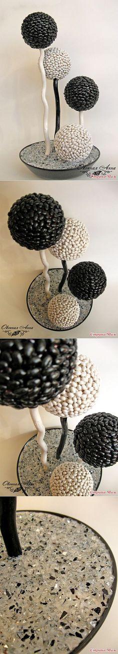 Черное и белое: Дневник группы 'Топиарий или дерево счастья.' - Страна Мам