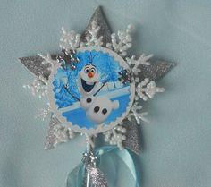 Olaf Frozen Wand by paulawellsstudio on Etsy