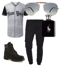 """""""my MAN!!"""" by stay-true-loyal on Polyvore featuring J Brand, Ray-Ban, Timberland, Ralph Lauren, mens, men, men's wear, mens wear, male and mens clothing"""