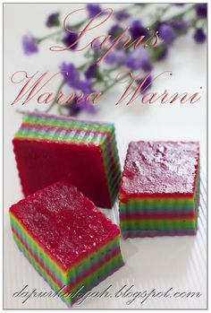 Dari Dapur Kak Yah: Lapis warna Warni