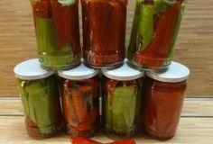 Jak naložit beraní rohy nebo kapie | recept Pickles, Cucumber, Stuffed Peppers, Vegetables, Cooking, Tableware, Kitchen, Food, Outdoor