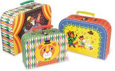 Circus koffertjes