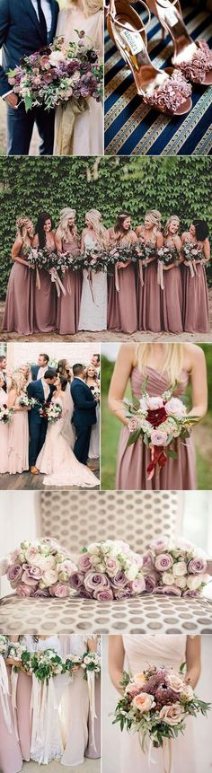 We Love The Look Of Mauve And Navy Together This Would Be A Great Combo Wedding Colors Fallspring