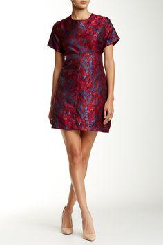 Eight Sixty   Short Sleeve Brocade Dress   Nordstrom Rack  Sponsored by Nordstrom Rack. Sponsored by Nordstrom Rack.