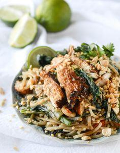 Thai Chicken Street Noodles.