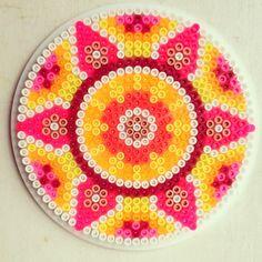 Mandala hama perler beads by coriander_dk http://mistertrufa.net/librecreacion/culturarte/?p=12