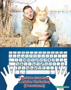 Уроки фотошоп. Горячие клавиши для Фотошопа.