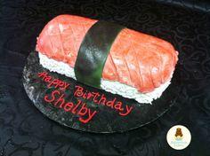 Sushi Roll Birthday Cake