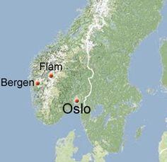 Oslo, Flåm, Bergen,