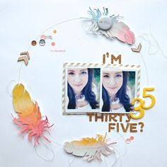 I´m thirty-five? *SC Sketch* by NinasDesign at @studio_calico