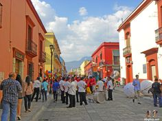 alcala in oaxaca, mexico