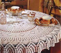 serweta   Kraina wzorów szydełkowych...Land crochet patterns..