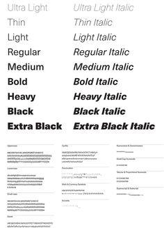 TYPEFACE DESIGN MERITS: Neue Haas Unica—Monotype, Woburn, MA; www.monotype.com: Toshi Omagari & Team '77 (designers)