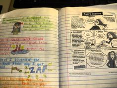 Ideas for using interactive notebooks in science.