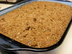 Chocolate Peanut Butter Streusel Cake Recipe - Food.com
