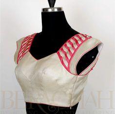 Super designer blouse front