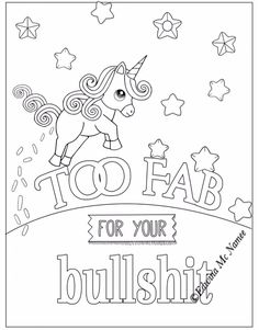 Emoji Coloring Pages, Love Coloring Pages, Printable Adult Coloring Pages, Coloring Sheets, Coloring Books, Swear Word Coloring Book, Drawings, Quotes, Crafts