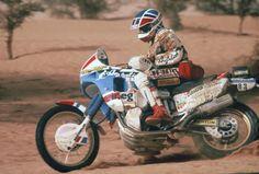Yamaha Paris Dakar Rally | 1988 Paris Dakar – Edi Orioli / Honda NXR750