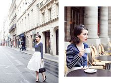 Photographing Kate in Paris by Paris in Four Months, via Flickr