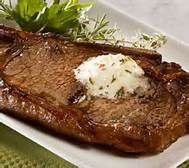 Compound Butter Recipes for steak, burgers, seafood, vegetables, bread. Cajun Blend, Bleu Cheese, Lemon Thyme, Herbed