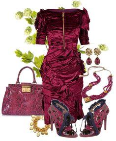 """Burberry Dress"" by fashionmonkey1 on Polyvore"