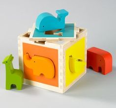 Love cute wooden toys for babies.