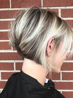 17 Chic and Eye-Catching Bob Hairstyles: #17. Chunky Lights