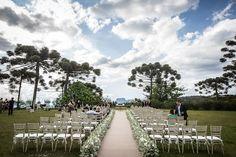 Cerimônia de casamento em Campos do Jordão.    Vestida de Noiva | Blog de Casamento por Fernanda Floret | Blog de Casamento