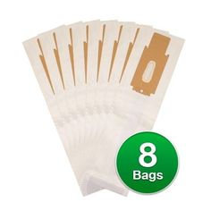 EnviroCare Replacement Vacuum Bags For Oreck XL2800H2US 2000 Upright Series Vacuums - 8 Bags