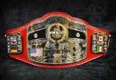 The new NWA World Junior Heavyweight Championship Belt