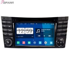 Free Shipping Quad Core S160 Android 4.4 Car DVD GPS For W211 2002 2003 2004 2005 2006 2007 2008 With Mirror Link BT Wifi Stereo