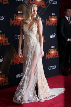 Brie Larson at a Captain Marvel premiere. Mary Marvel, Marvel Dc, Brie Larson, Sacramento, Beautiful Celebrities, Beautiful Actresses, Marvel Women, Marvel Girls, Woman Crush