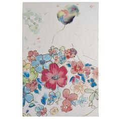 Floral Dress Art I