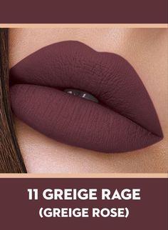 Smudge Me Not Liquid Lipstick - Makeup Lip Gloss Colors, Lip Colors, Matte Lip Color, Fall Lipstick Colors, Best Lipstick Color, Eye Makeup, Makeup Lipstick, Lipstick Guide, Beauty Makeup
