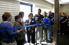 Grand Opening of our new building in Papillion back in 2007 surrounded by family, coworkers, and friends!