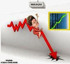 A Casa da Mãe Joana - continuação: Dilma cai e bolsa sobe.