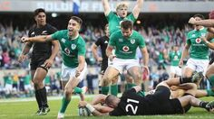 Ireland rugby famous victory over the All Blacks in Chicago