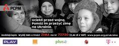 Wyślij SMS o treści ZIMA na 72720 za 2,46 zł (z VAT) i pomóż przetrwać zimę tym, którzy uciekli przed wojną #Ukraina