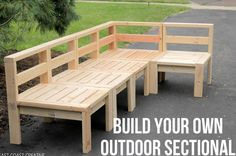 Build an Outdoor Sectional…