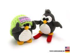 Tutorial Amigurumi Pinguino : Tutorial completo para tejer estos pingüinos en crochet amigurumi