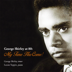 """George Shirley at 80: My Time Has Come!"" album cover, 2014"