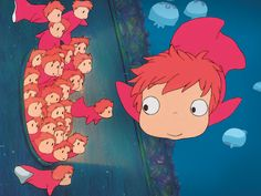 Ponyo on the Cliff by the Sea, Ayao Miyazaki (2008)